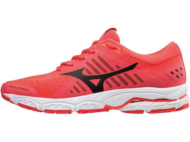 Mizuno Wave Stream Running Shoes Women fiery coral/black/white